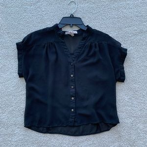 Black F21 blouse